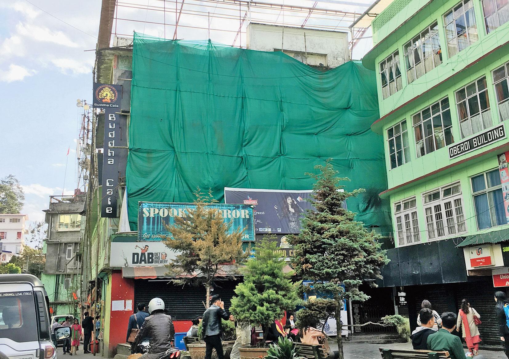 The Star Hall building in Gangtok