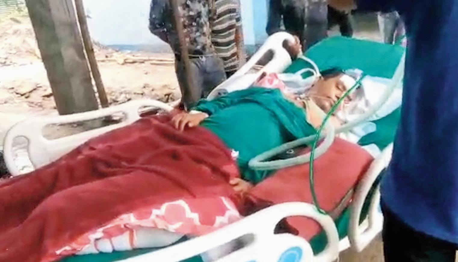 Hospital fire kills patient