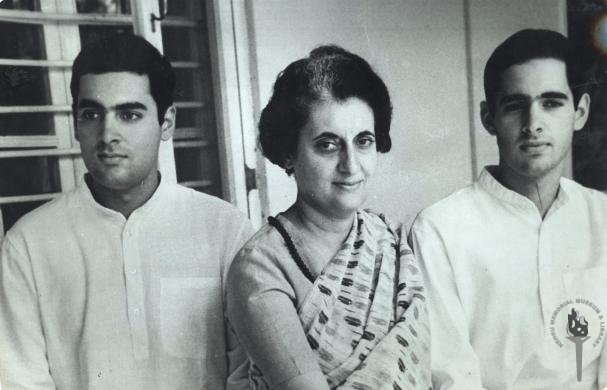 Sanjay Gandhi (right) was Indira Gandhi's favoured son. About her older son, Rajiv, she used to say, 'He doesn't know anything about politics.'