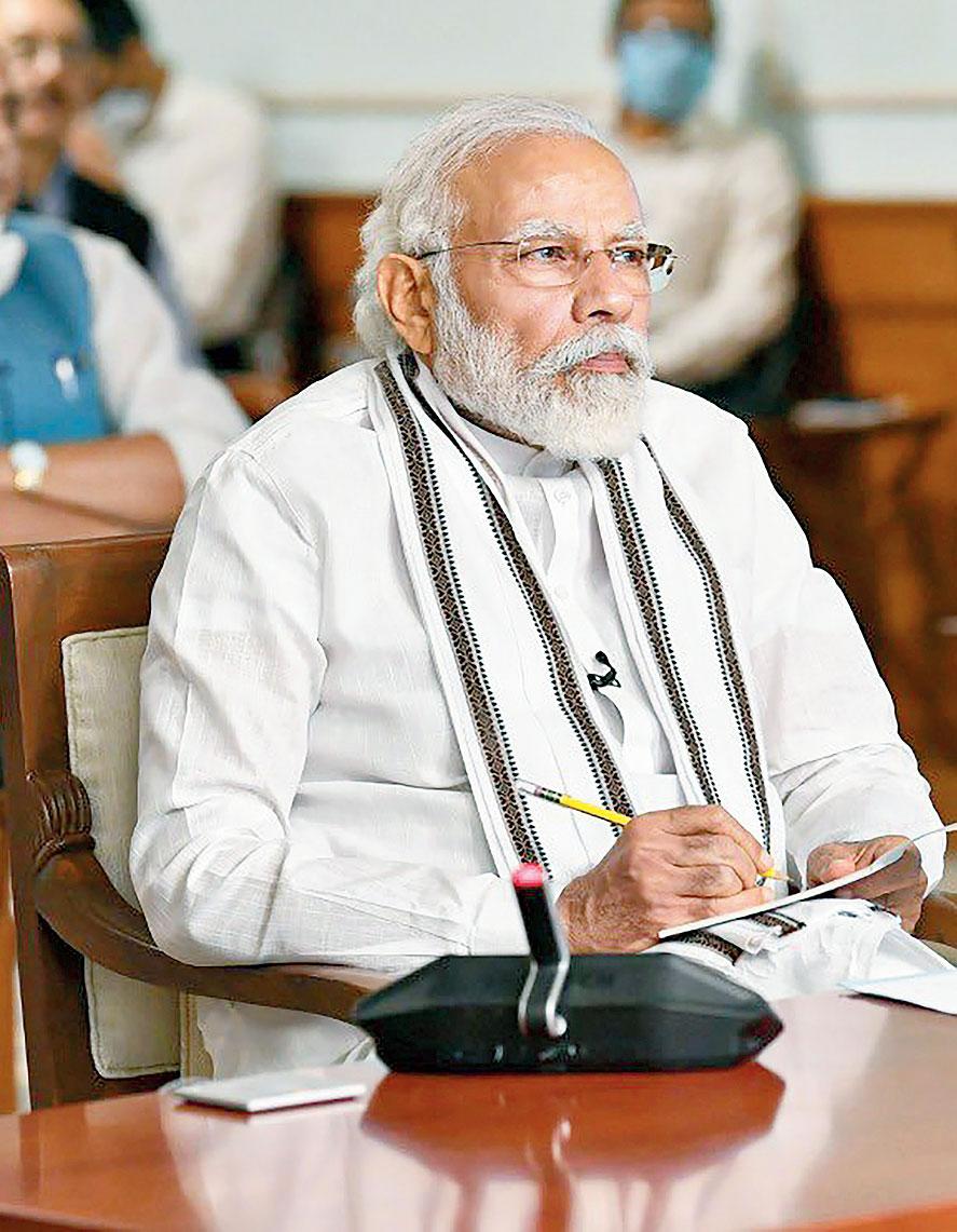 Prime Minister Narendra Modi in New Delhi.