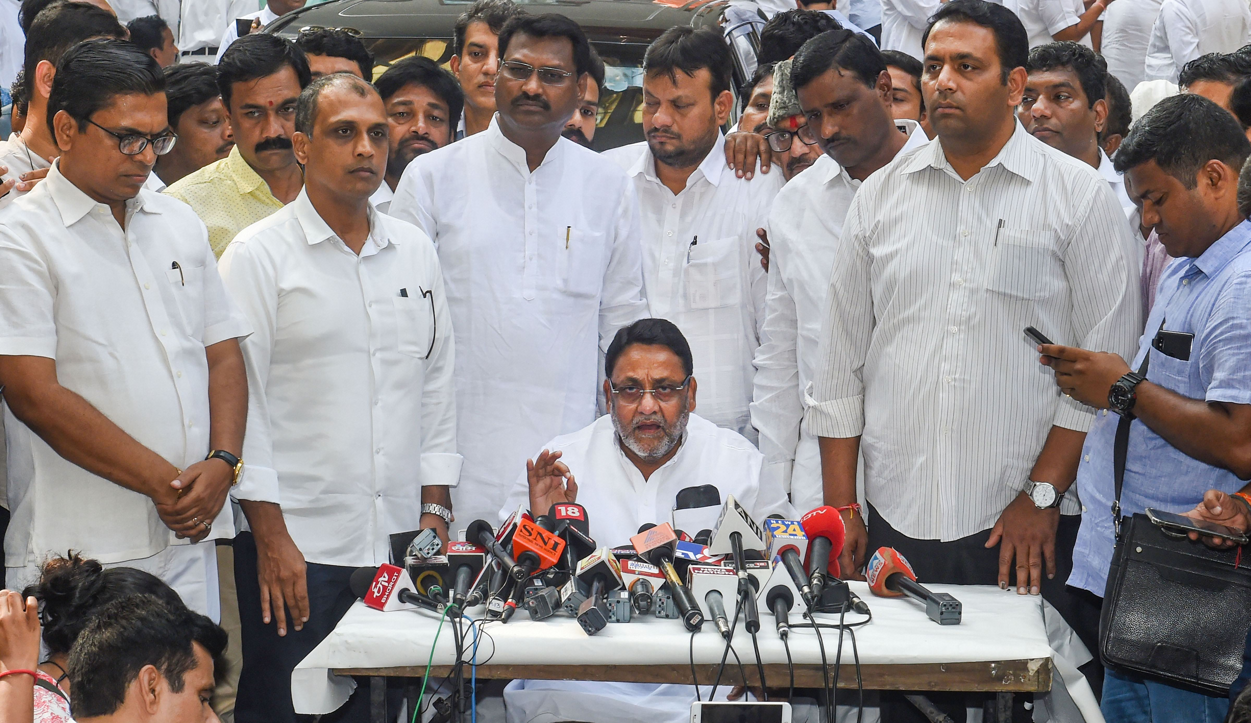 NCP chief spokesman Nawab Malik also said the Congress must be a part of the government to ensure its stability