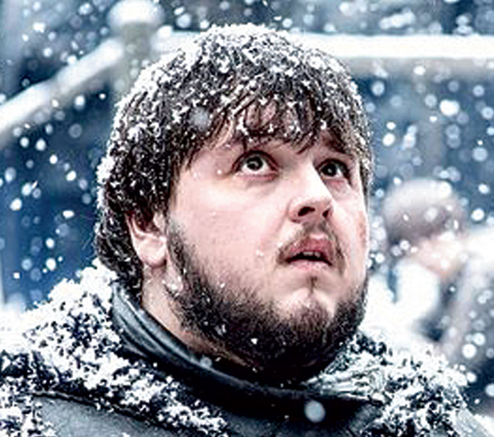 Samwell Tarly from Game of Thrones