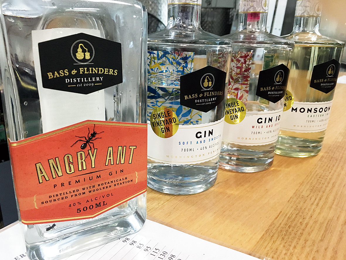 Creations from the Bass & Flinders Distillery