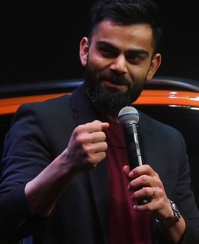 Kohli, who was named captain of both the ICC's Test and ODI teams of the year besides winning the 'Spirit of Cricket' award for his gesture of trying to stop the fans from booing Steve Smith during a 2019 World Cup match at the Oval, reacted to his new award too.
