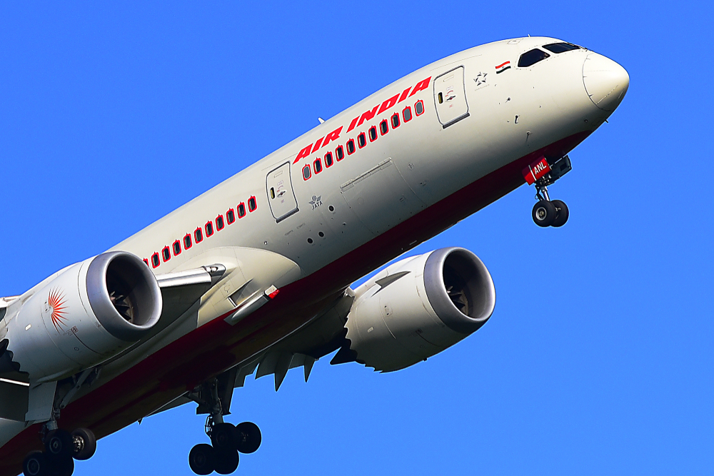 The first Air India flight from the UK, scheduled as part of the Vande Bharat Mission to repatriate Indians stranded overseas due to the coronavirus lockdown, took off from London's Heathrow Airport on Saturday and will land in Mumbai in the early hours of Sunday.