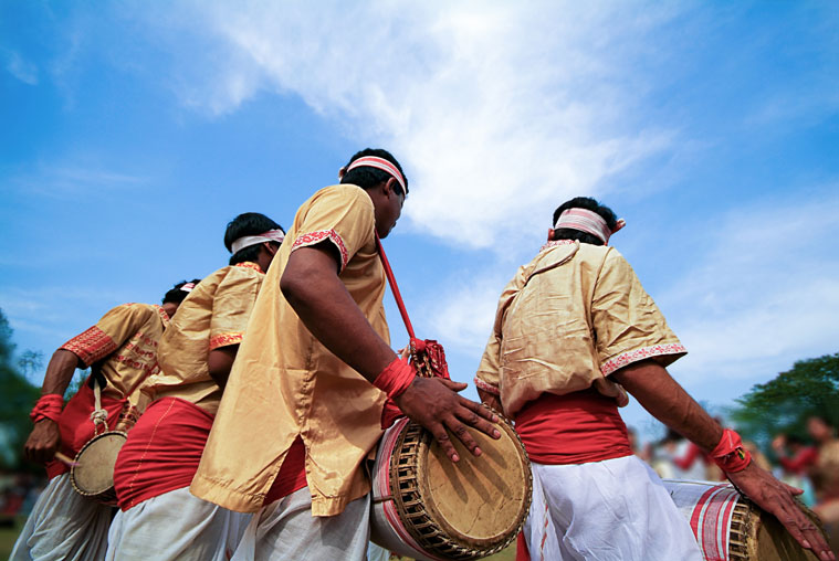 Bihu cultural nights are common across the state where hundreds assemble to enjoy the festivities with performances by their favourite singers.