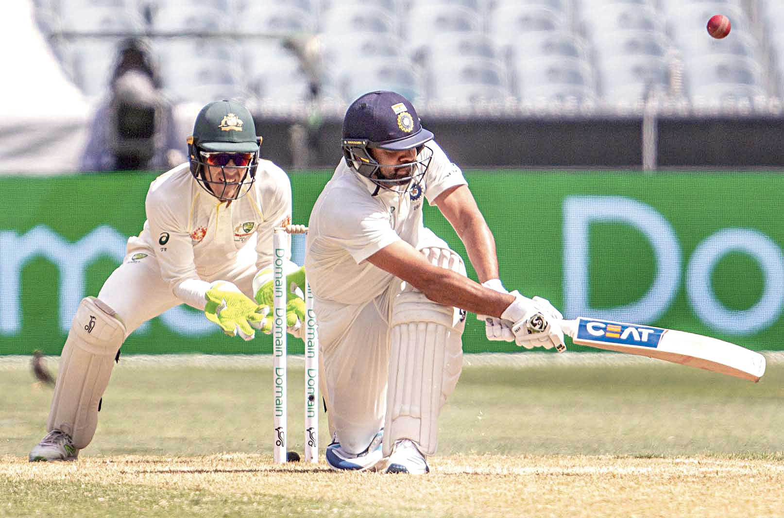 Rohit Sharma plays a shot during the third India-Australia Test in Melbourne on Thursday. Most fans would have missed the action from December 29 had the cable deadline not been revised.