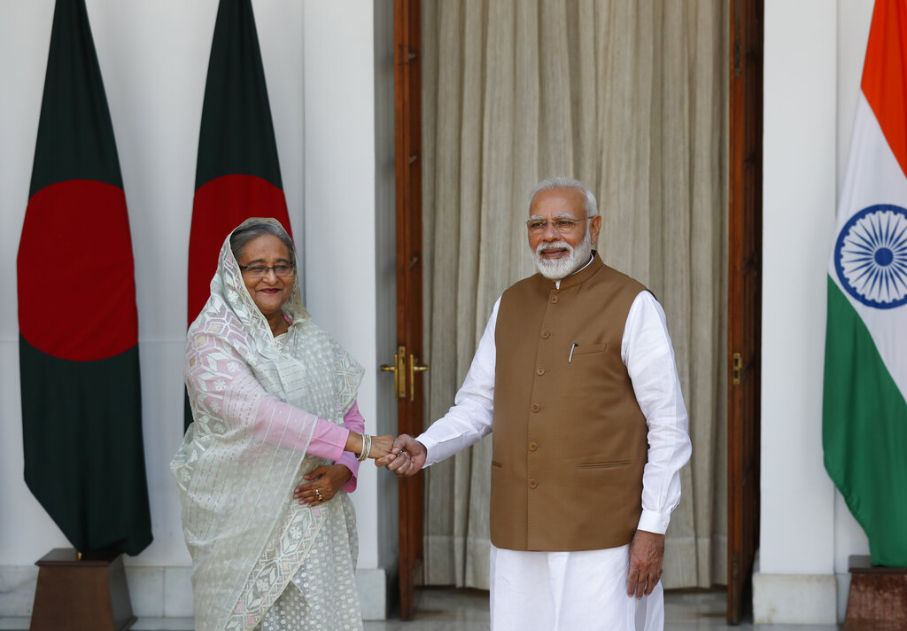 "The visit of the Bangladeshi prime minister, Sheikh Hasina, to India earlier this month highlighted strong bilateral ties with an announcement upholding ""the importance of effective border management for ensuring a tranquil, stable and crime free border""."