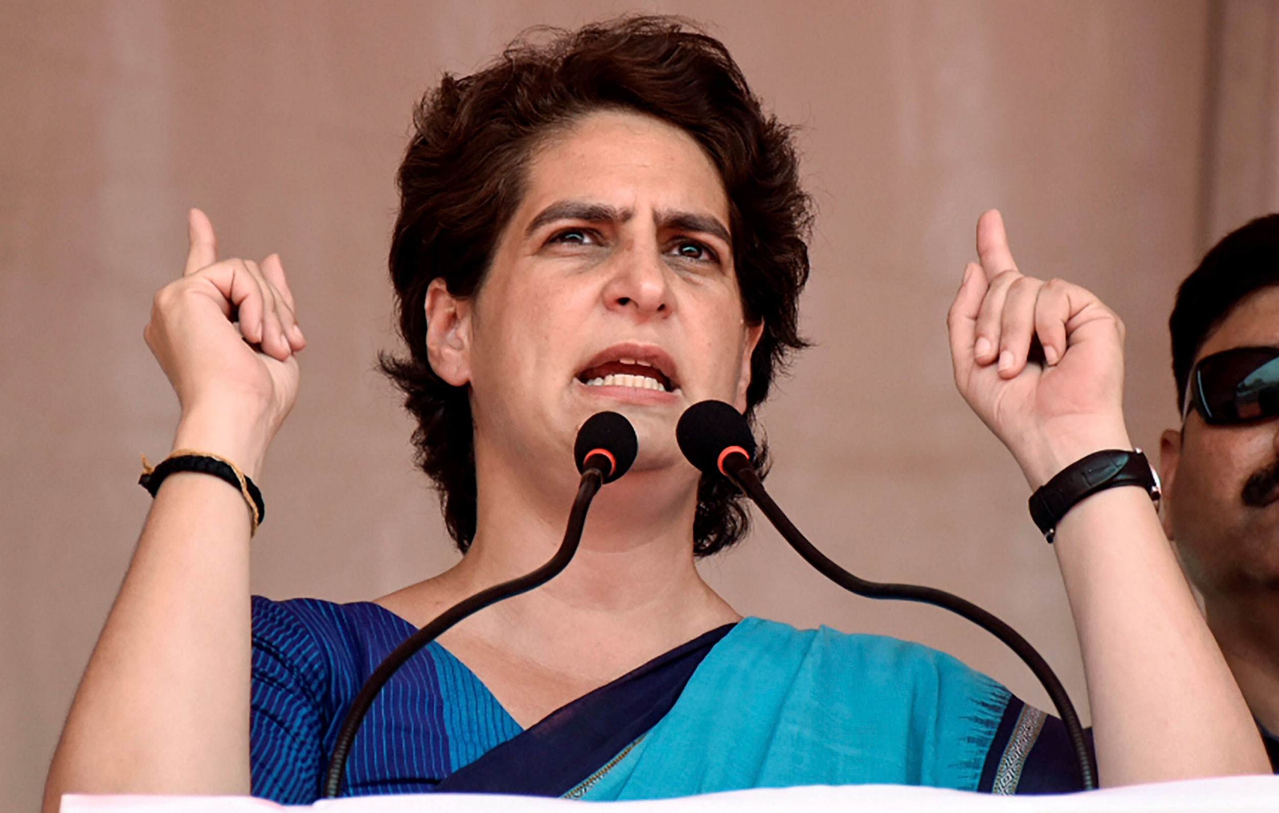 "Priyanka tweeted: ""The BJP government is planning to celebrate completion of hundred days. But this will appear as celebration of ruin  in the auto, transport and mining sectors. Reports of job losses and lockdowns are coming from every sector..."