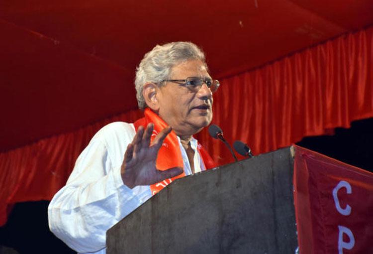 CPM's Yechury slams attack on Bengal heritage