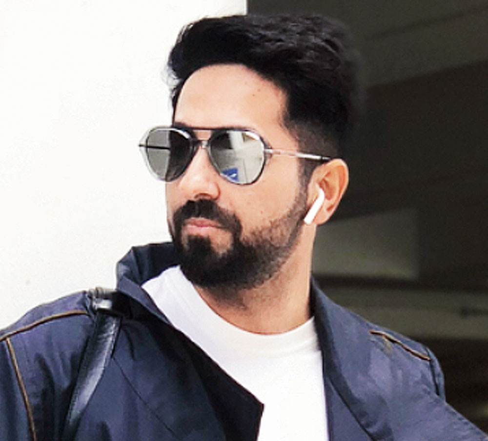 """I am not a party person. I was with my family. My parents are also in town. We had a quiet and simple dinner,"" Ayushmann says."