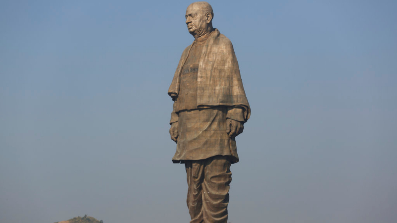 Gujarat chief minister Vijay Rupani had said over 10,000 tourists had visited the Sardar Patel memorial every day since the 182-metre statue, the world's tallest such structure, was unveiled by Prime Minister Narendra Modi in October.