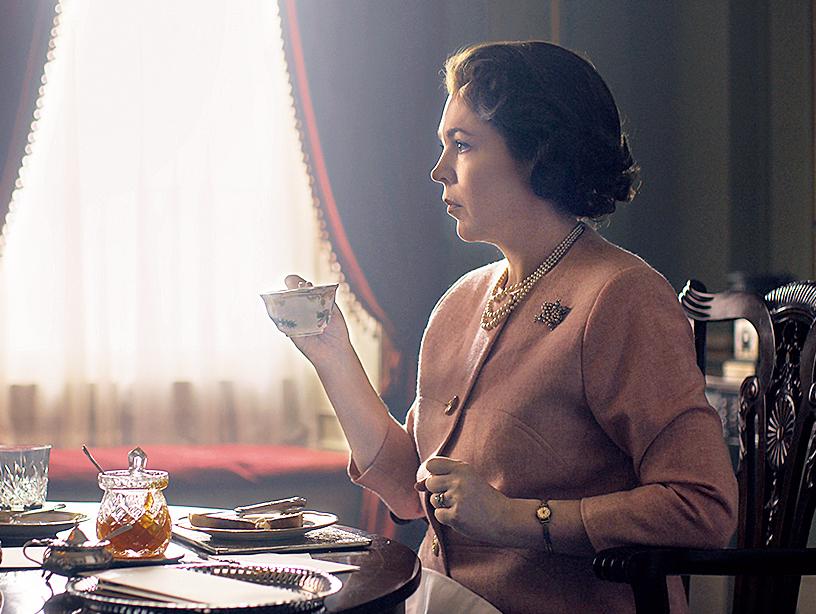 Olivia Colman as Queen Elizabeth II in Season 3 of The Crown