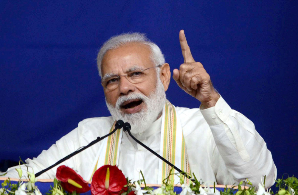 PM Modi defends 'lack of Rafale' remark