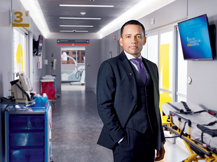 Hill Harper as Dr Marcus Andrews in The Good Doctor