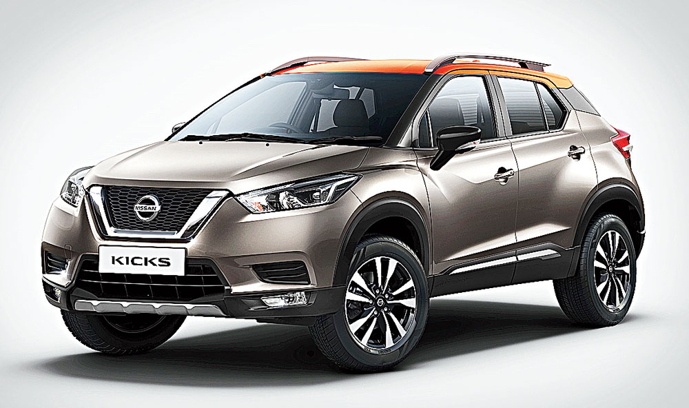 Nissan India has released the first official pictures of its Kicks SUV that would go on sale in January 2019