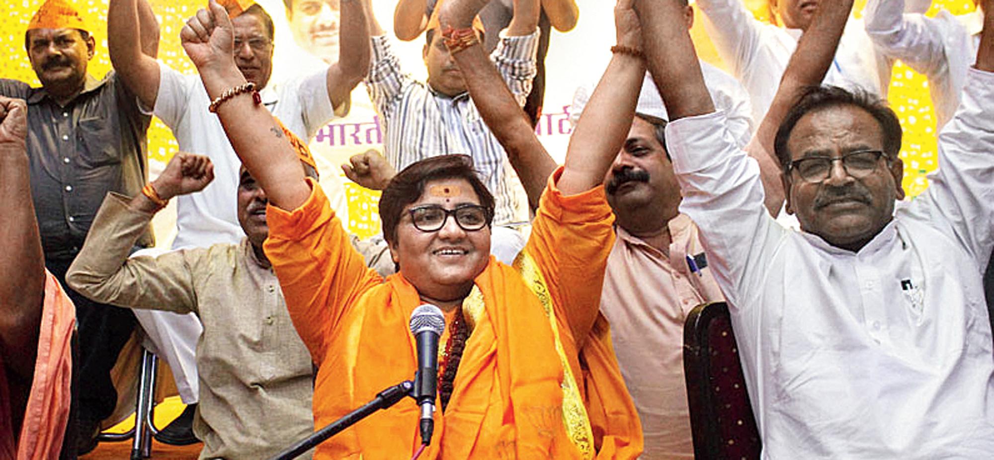 By choosing Pragya Singh Thakur, the Modi regime has bared its terrifying saffron fangs