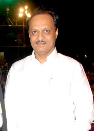 NCP leader and Maharashtra deputy chief minister Ajit Pawar.