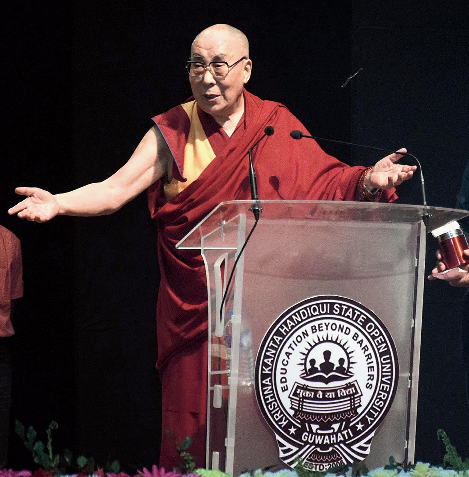 Dalai Lama in Bodhgaya for three weeks