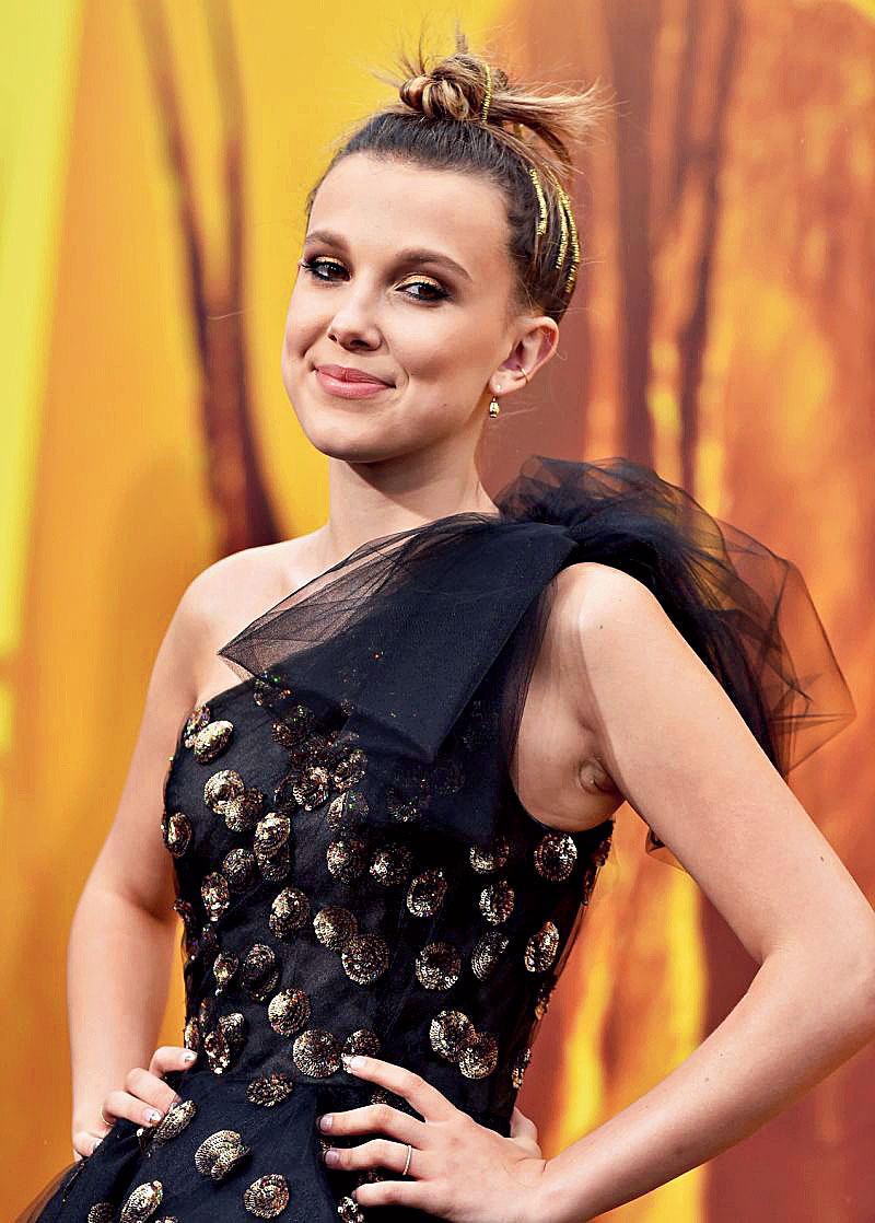 Breakout star Millie Bobby Brown says she wants to see the show enter the era of 1990s in the follow-up seasons.