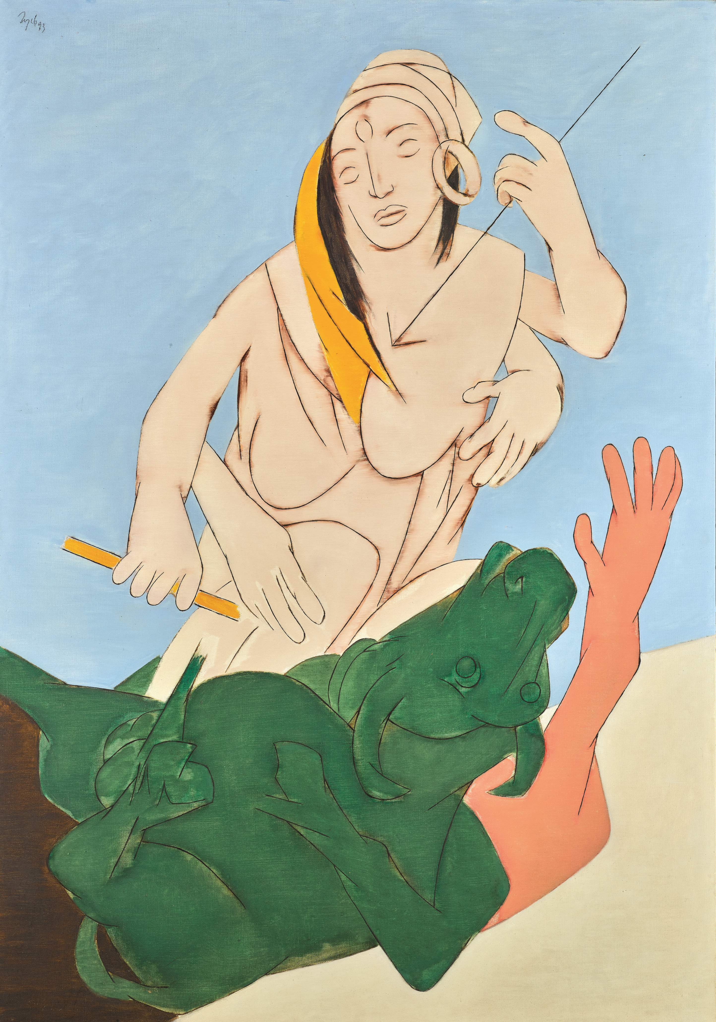 Tyeb Mehta's Durga Mahisasura Mardini sold for Rs 20.49 crore, against an estimated price of Rs 20 crore to Rs 30 crore, reflecting a strong demand for the artist in recent months