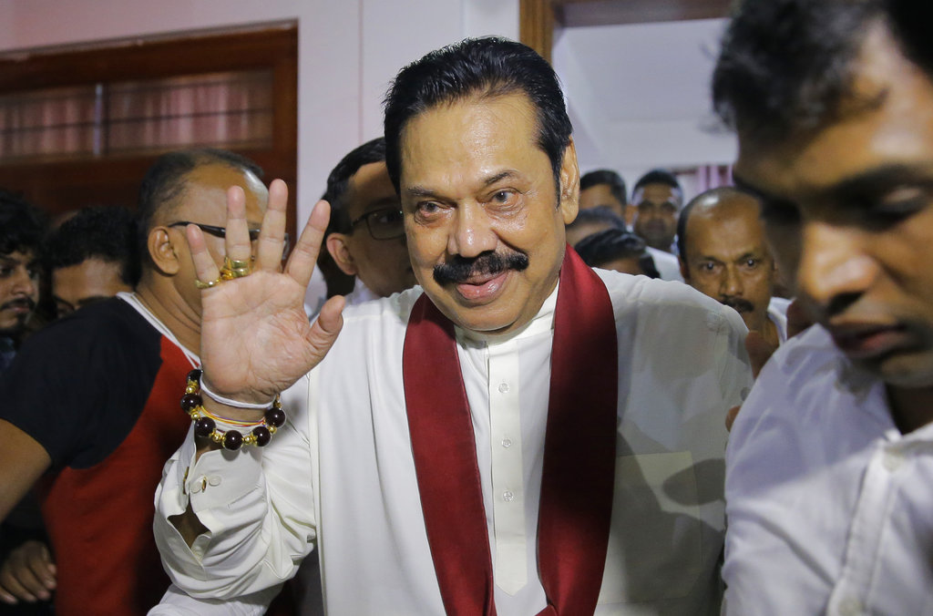 Sri Lanka's president suspends parliament