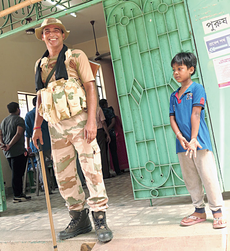 Dip Pal, a seven-year-old from CE Block