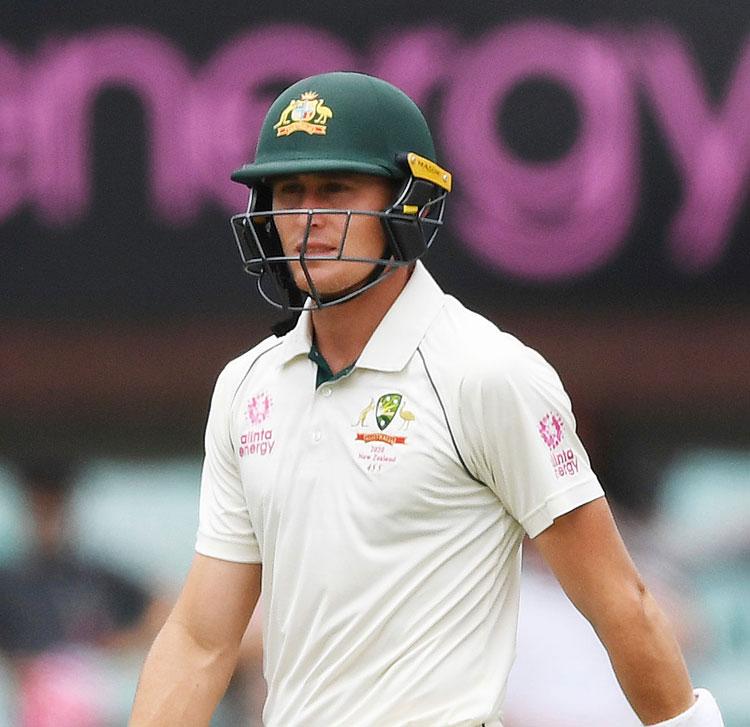 Australian batsman Marnus Labuschagne