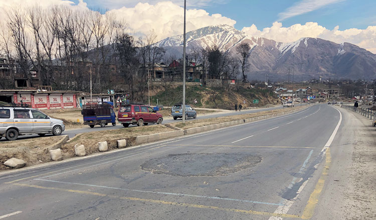 Leithpora in Pulwama, the site of the February 14 explosion