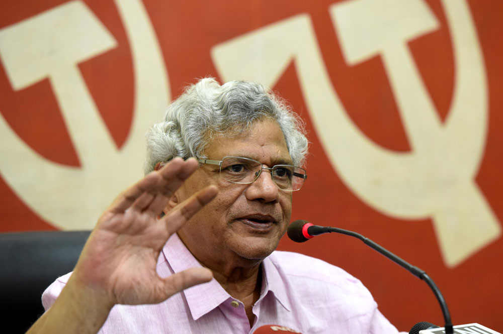 """He (Bhattacharjee) is suffering from acute COPD and often experience breathlessness. With such serious breathlessness, he cannot record a continuous video message. So that is a problem for him. It is very unfortunate. But everybody is missing him,"" Sitaram Yechury said."