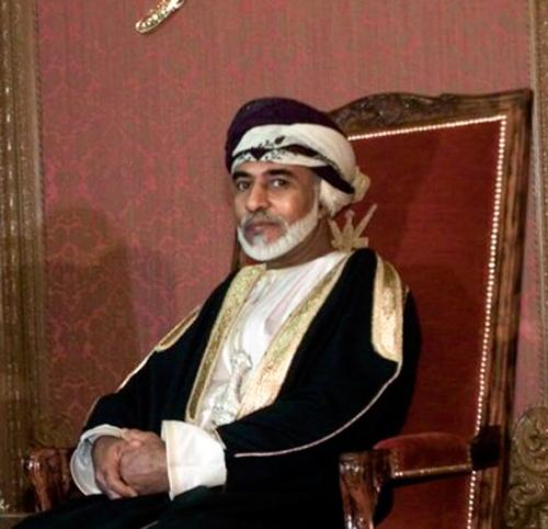 Oman's Sultan Qaboos bin Said.