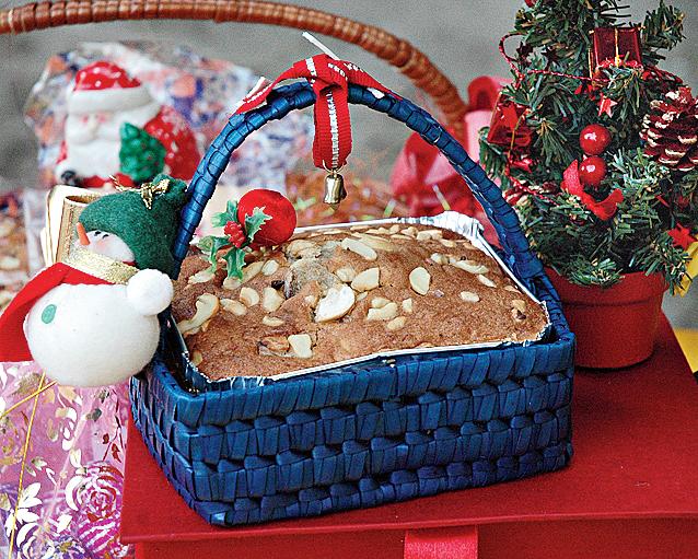 The shared joy of Christmas cake