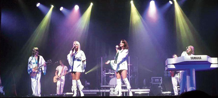 Get set to feel the ABBA vibe