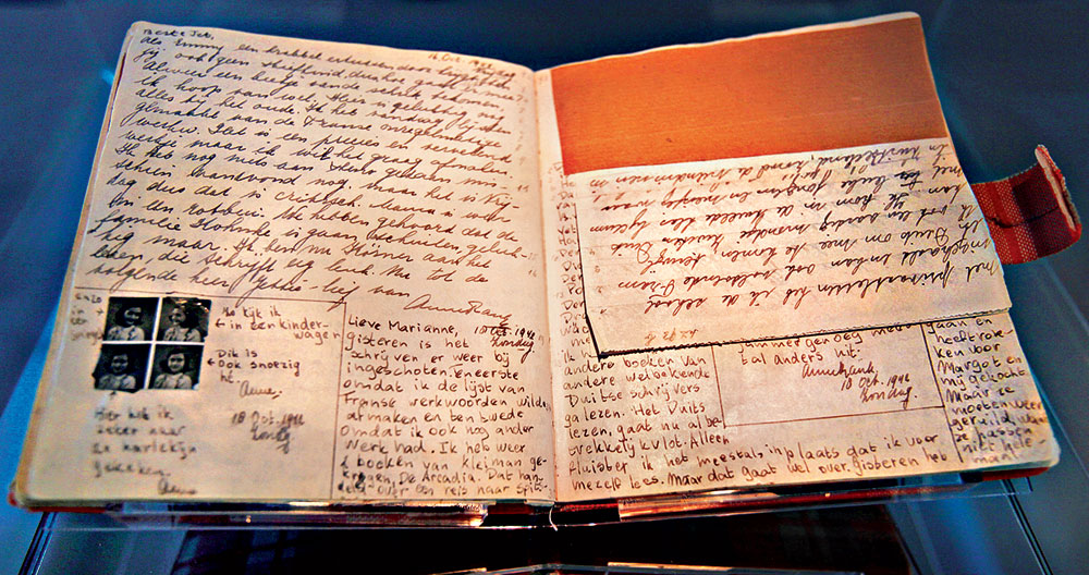 Anne Frank's diary has a lasting and historical impact