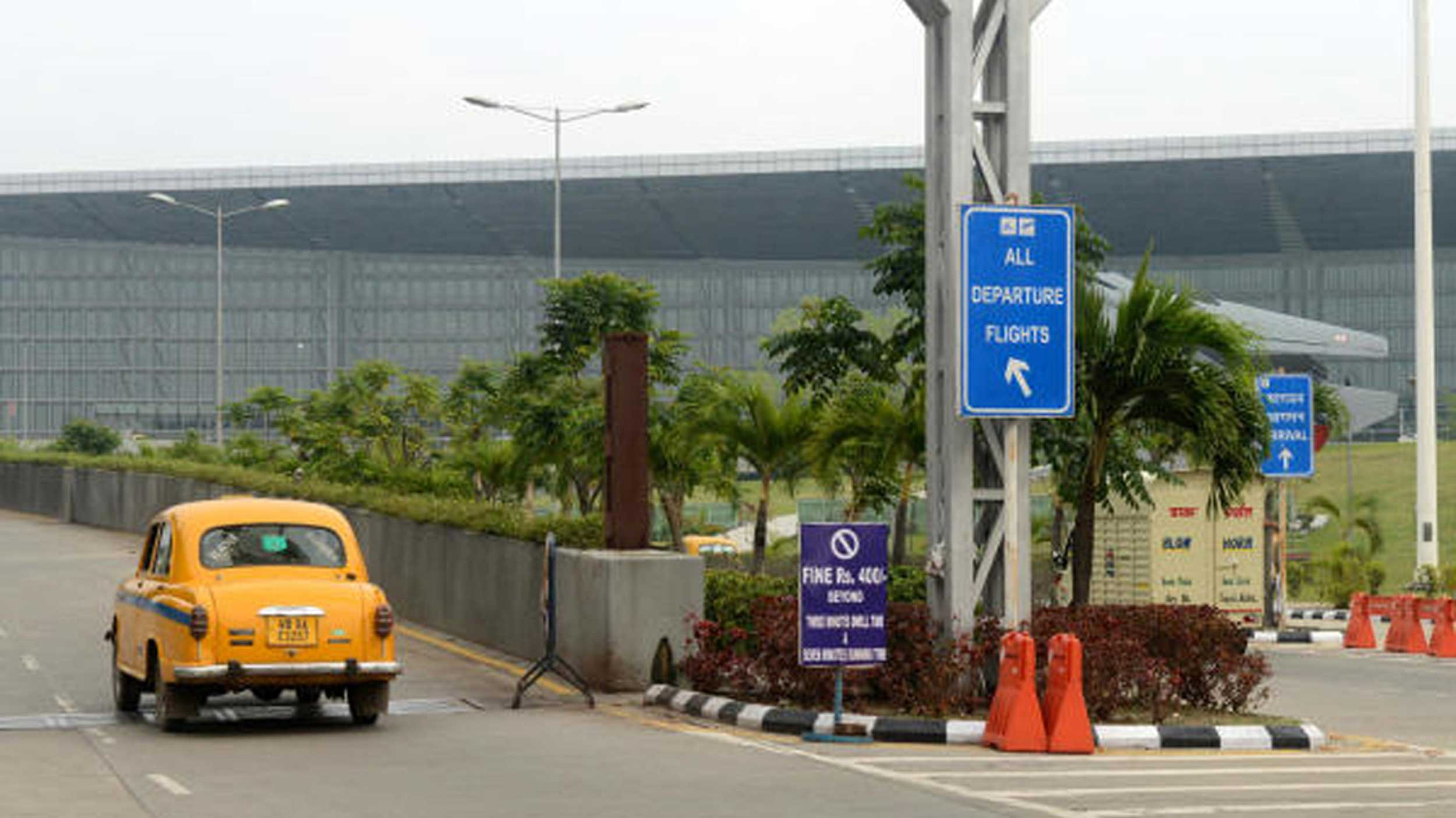The gate would open automatically for the passenger once the code was provided at the entrance of Netaji Subhas Chandra Bose International Airport
