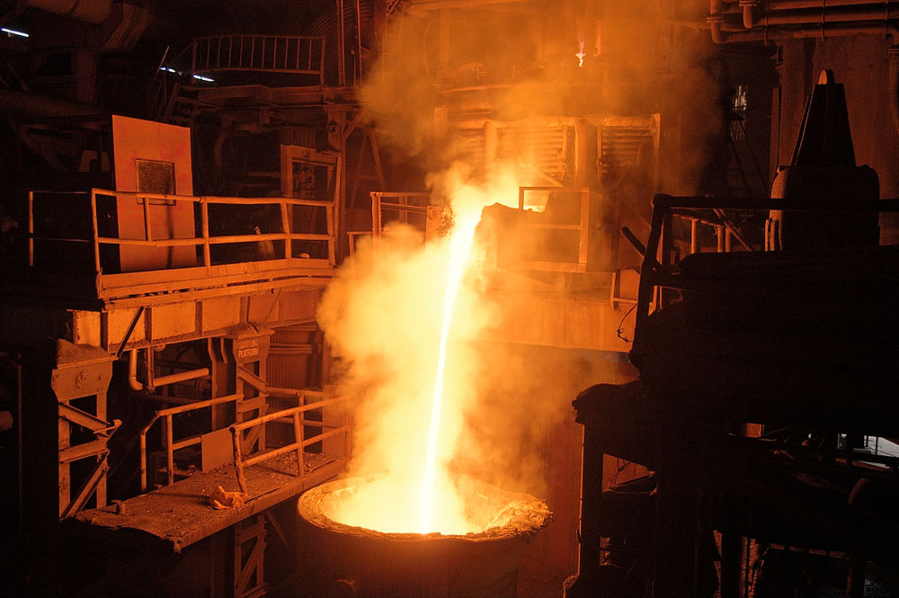JSW Steel, part of OP Jindal Group and promoted by billionaire industrialist Sajjan Jindal, is capable of producing annually 18 million tonnes of the alloy which finds use in construction, consumer durables and auto industry.
