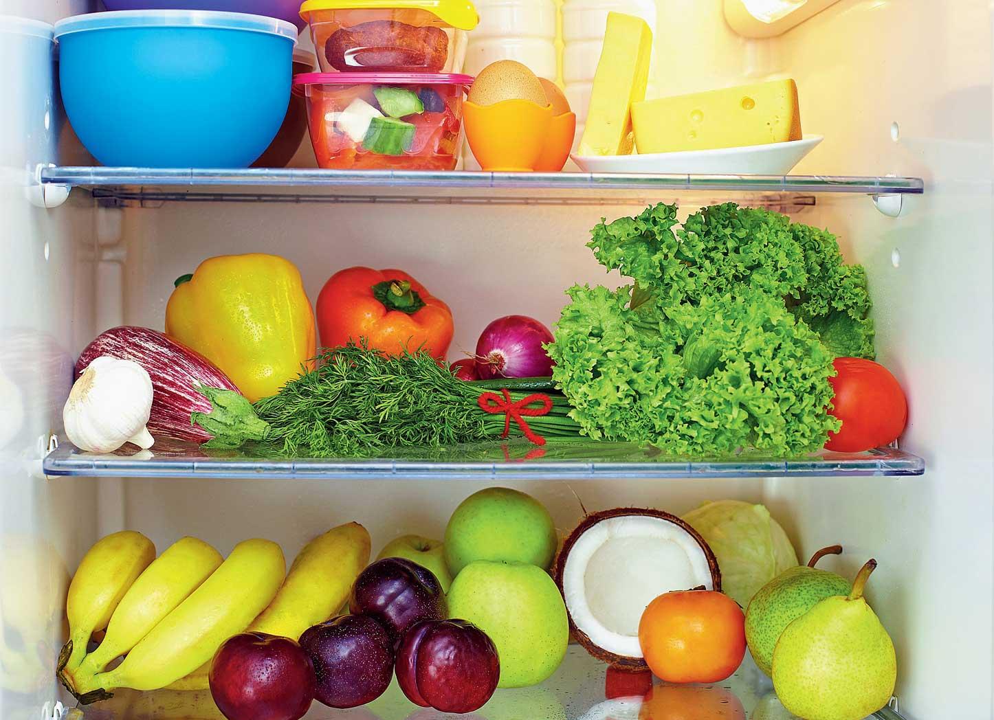 Frozen fruit and vegetables