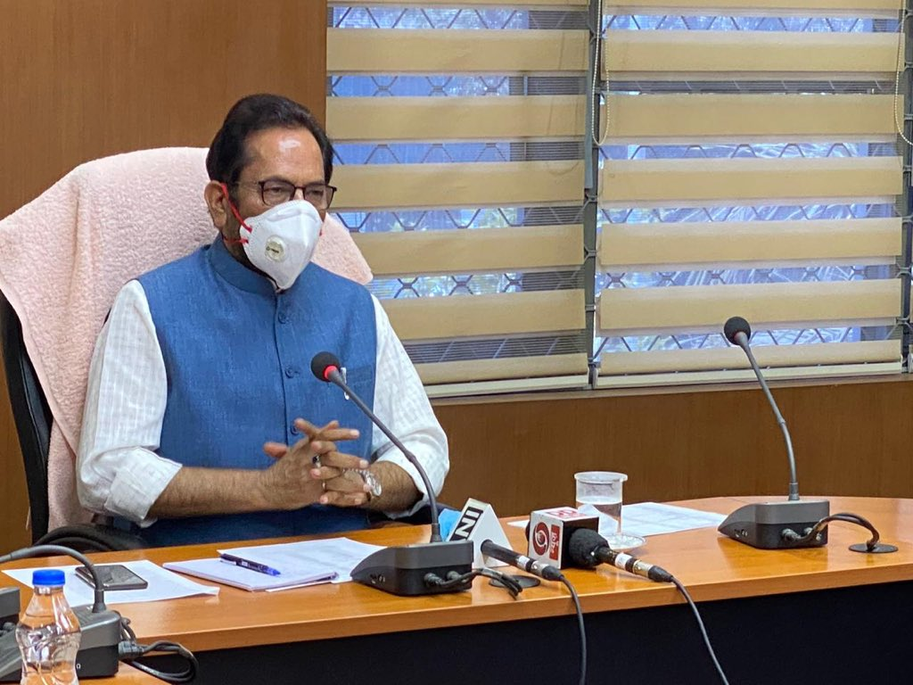 Asserting that the social, economic and religious rights of Muslims are secure in India, minority affairs minister Mukhtar Abbas Naqvi said