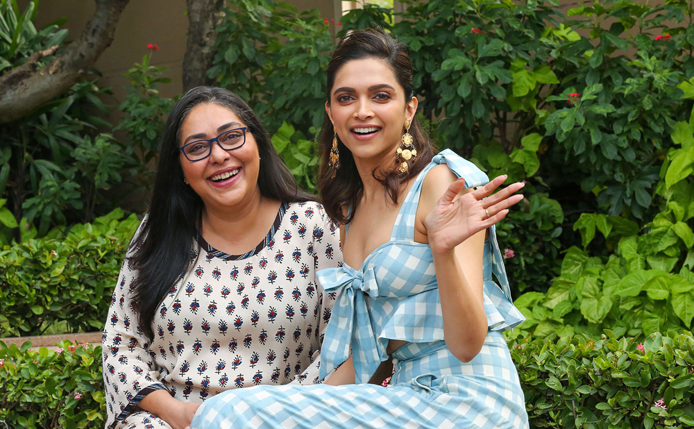 Actress and producer Deepika Padukone (right) and film director Meghna Gulzar during the promotion of 'Chhapaak' in Mumbai