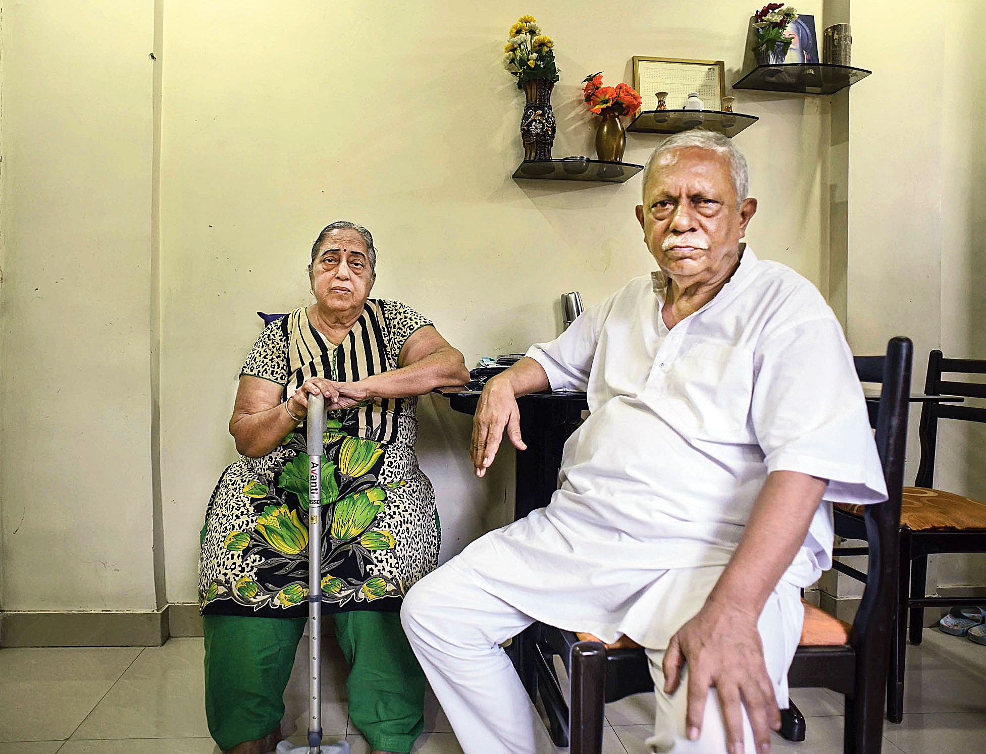 It's been nearly a month since curbs have been imposed on withdrawal of deposits from PMC Bank in Maharashtra. Harish Malkani (69) and his wife Rani Malkani, retired civil servants who live in Mumbai, have deposited all their savings in the bank and need the interest for daily expenses