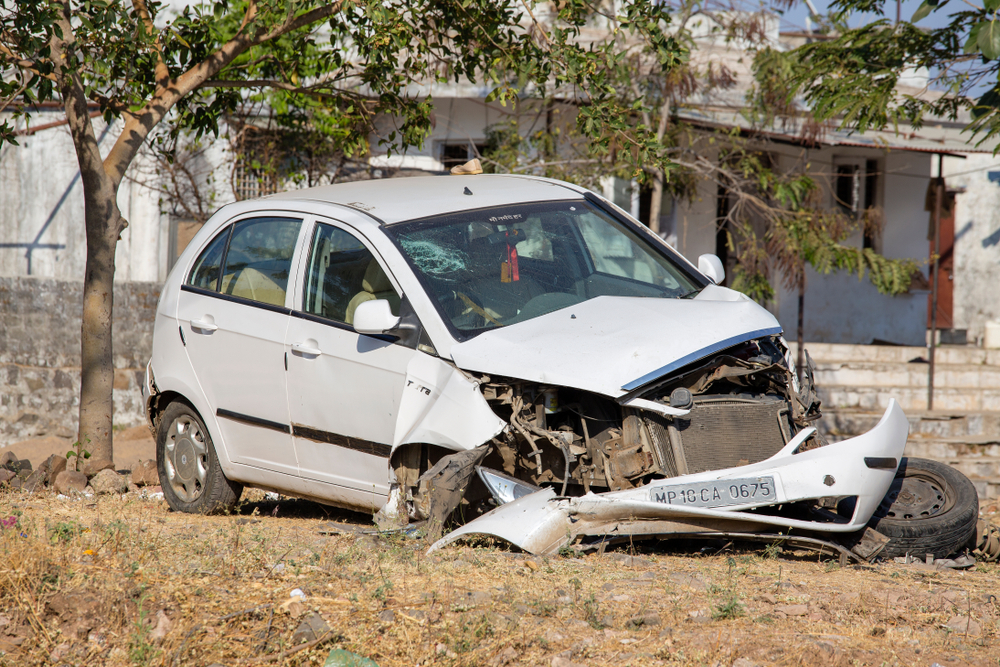 Representative image: The driver and a relative travelling with the MP in his car suffered injuries and have been taken to hospital.