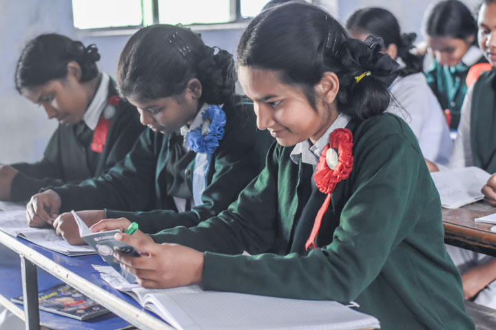 The West Bengal Board of Secondary Education, which conducts Madhyamik, carried out a series of inspections during examinations and found teachers on invigilation duty engaged in evaluation or other work in the examination hall.