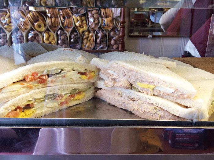 Tramezzini is Venice's little gastronomic secret— a soft white-bread sandwich stuffed to the brim with creamy fillings.