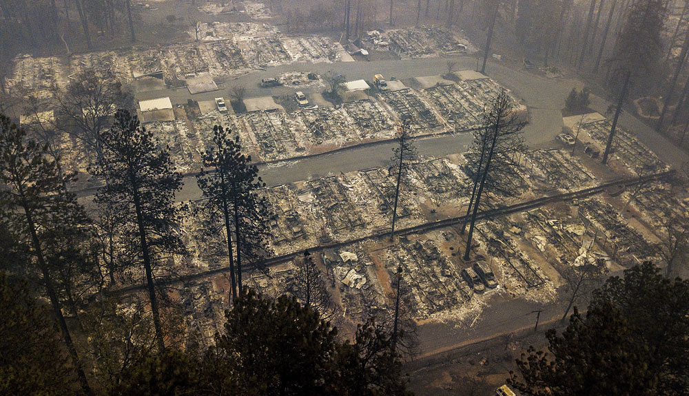 California wildfires show high cost of ignoring climate change