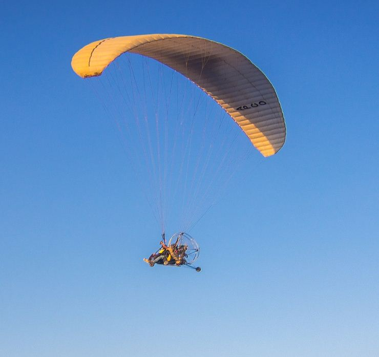 Water parasailing is expected to be a big draw in the adventure sport-loving state.