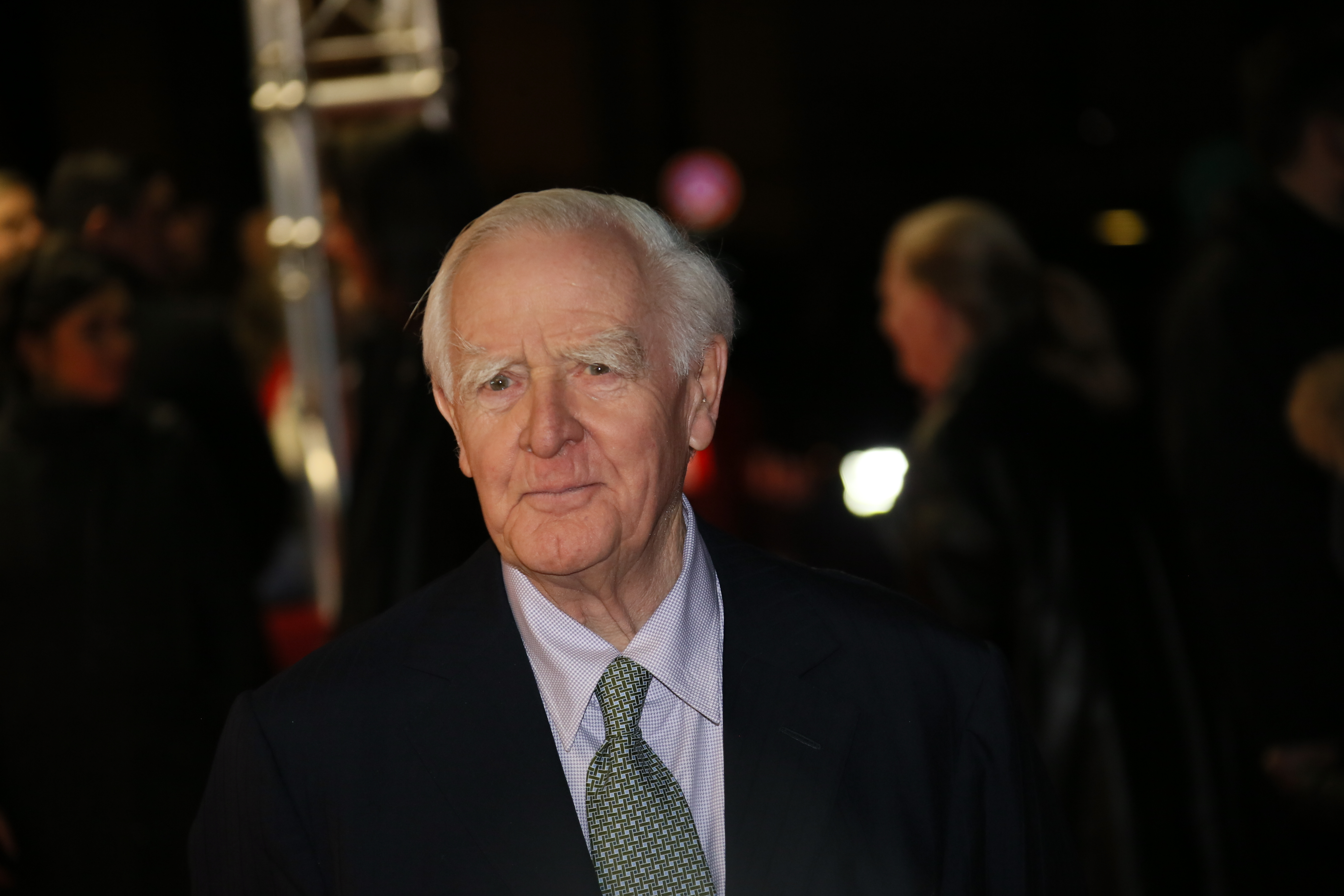 """What le Carré wanted in a candidate was """"a sense of larceny"""", as he explains during an interview at his north London home"""