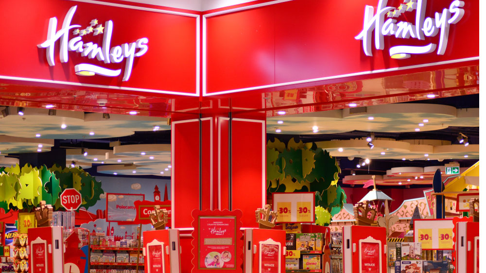 Hamleys operates in 18 countries across the globe and during the year under review, opened 41 stores globally