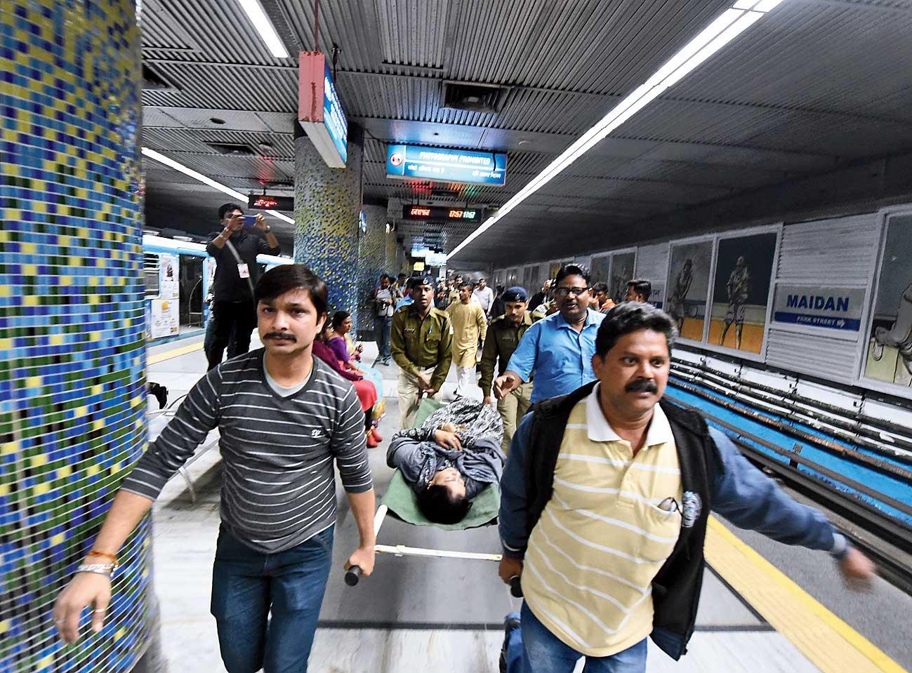 Loose part blamed for fire in Calcutta Metro Railway