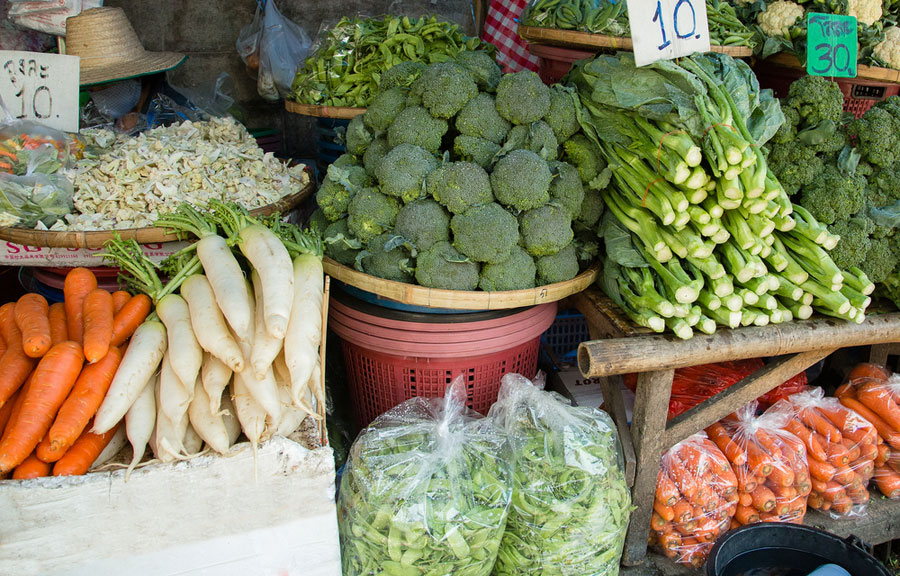 Vegetable inflation was at 28.13 per cent in March, up from 6.82 per cent in the previous month