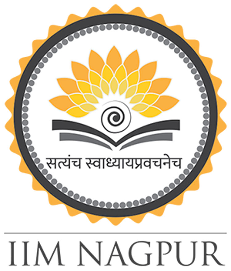 The Indian Institute of Management Nagpur logo. It has increased its seats for the new session from 120 to 130, of which four will be filled under this provision